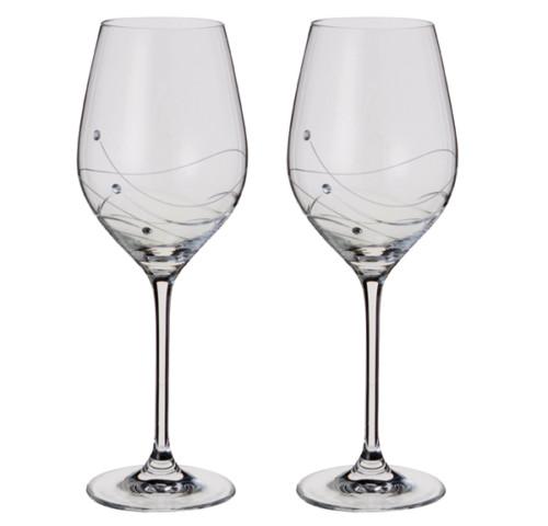 Glitz Wine Glasses from Dartington