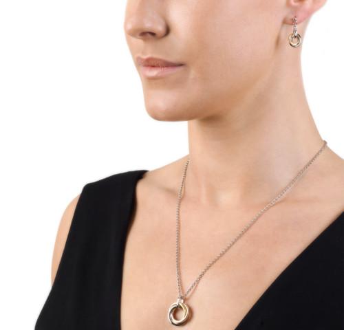 Trio Pendant & Earrings from Hot Diamonds