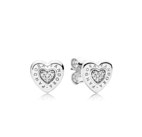 Heart Stud Earrings from Pandora